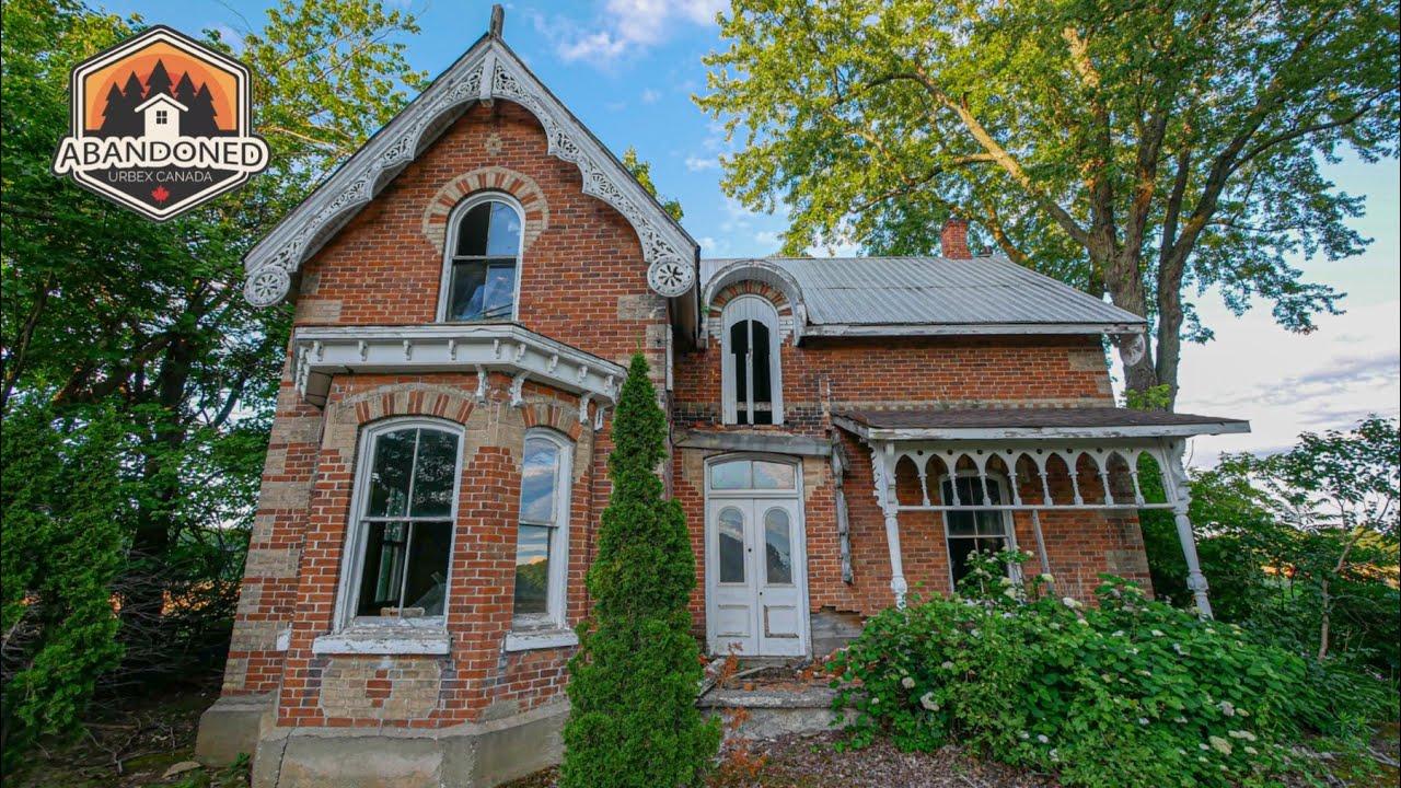 Beautiful abandoned Victorian farmhouse built in 1895. Explore #59