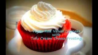 Vegan Red Velvet Cupcakes With Tofu Cream Cheese Frosting