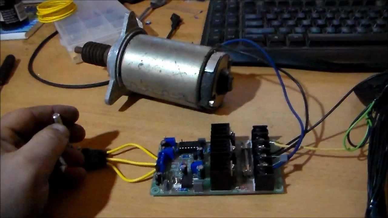 Circuit Build: Jaycar 20 Amp 1224v Speed Controller  Test Run  YouTube