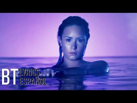 Demi Lovato - Neon Lights (Lyrics + Español) Video Official