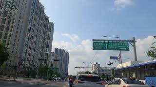 SEOUL,KOREA,강동구 상일동. 고덕 A.PT단지…
