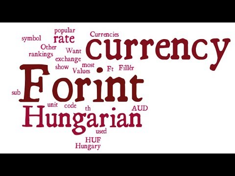 Hungarian Currency - Forint