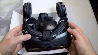 Monster Digital Vision VR Headset With Integrated Headphones Unboxing Review