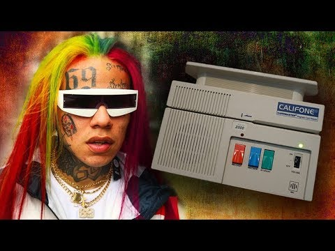6ix9ine Gummo but its Played on the Califone Card Reader