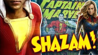 Real Captain Marvel is SHAZAM! Marvel/DC and the never ending fight