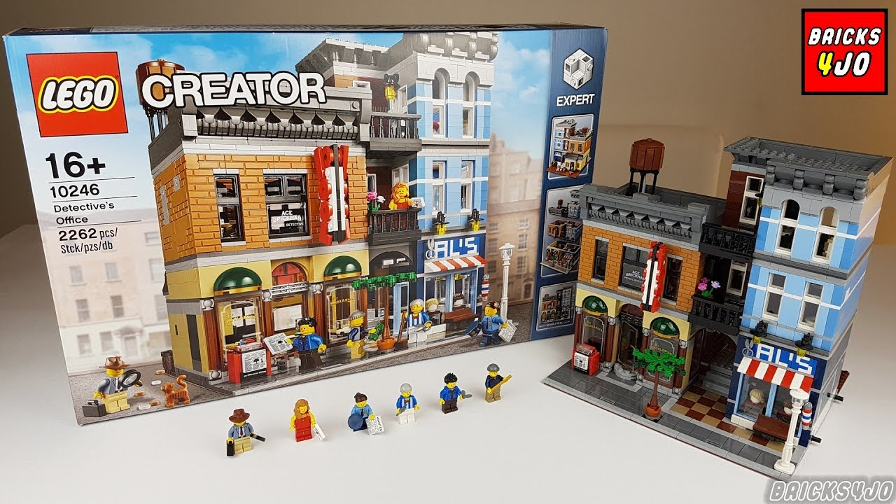 LEGO Baukästen & Sets 10246 LEGO CREATOR Detektivbüro