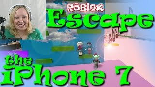 *FACECAM* ROBLOX | Escape the iPhone 7 Obby | RadioJH Games | SallyGreenGamer