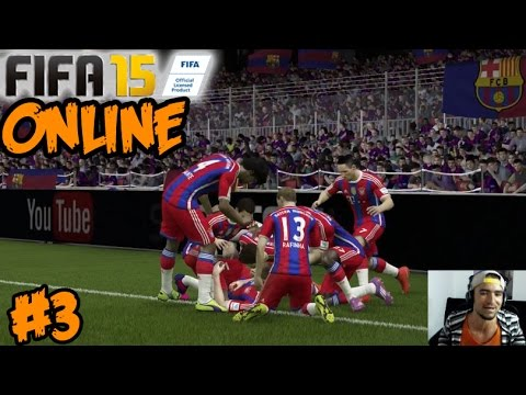 FIFA 15 ONLINE - FC Bayern Munich Vs Barcelona - Partido de Temporada - PS4 Gameplay