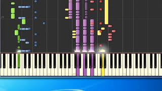 [Piano Tutorial Synthesia]Flawless - Michael George