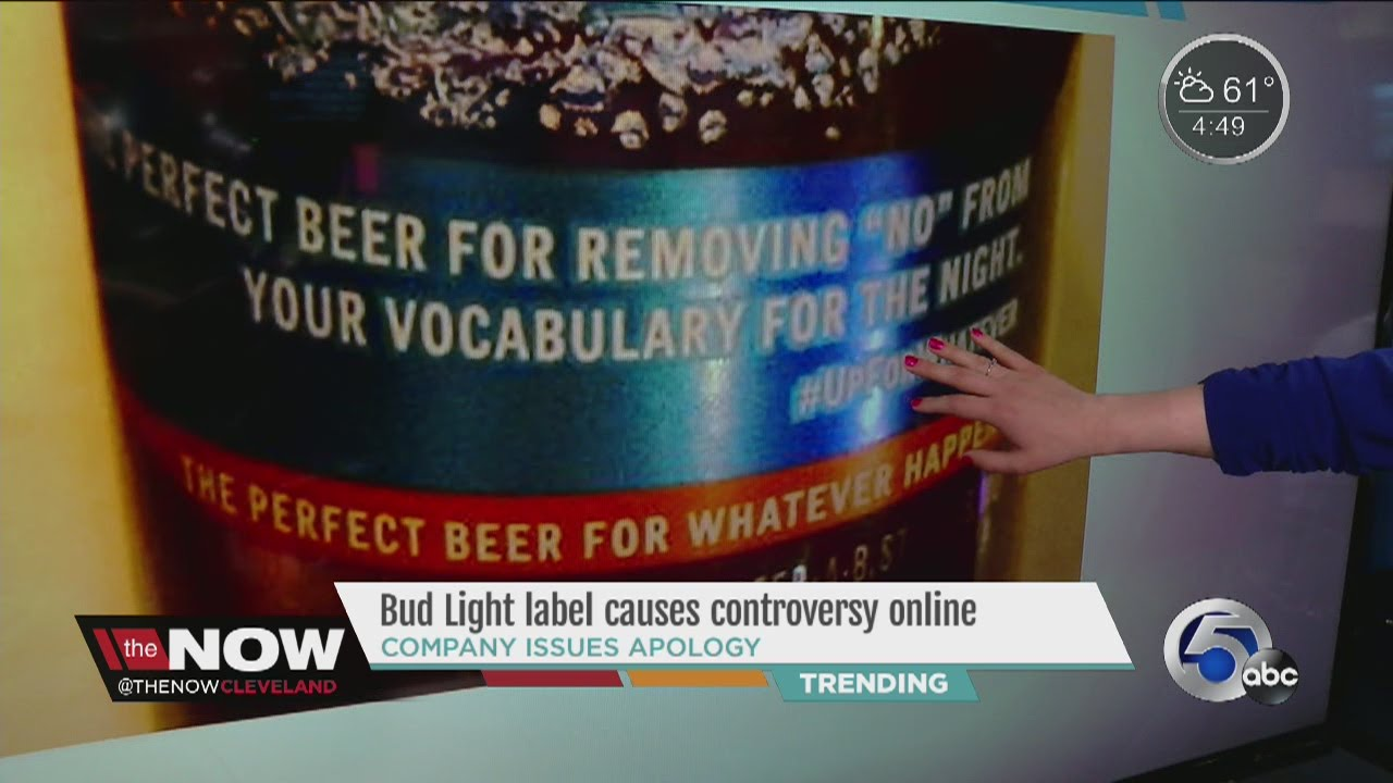 Attractive Bud Light Sorry For Slogan Saying Beer Removes U0027nou0027 From Vocabulary Awesome Design