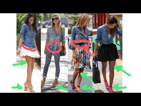 Dicas Para Usar Camisa Jeans Feminina - Com Que Roupa Eu Vou?????