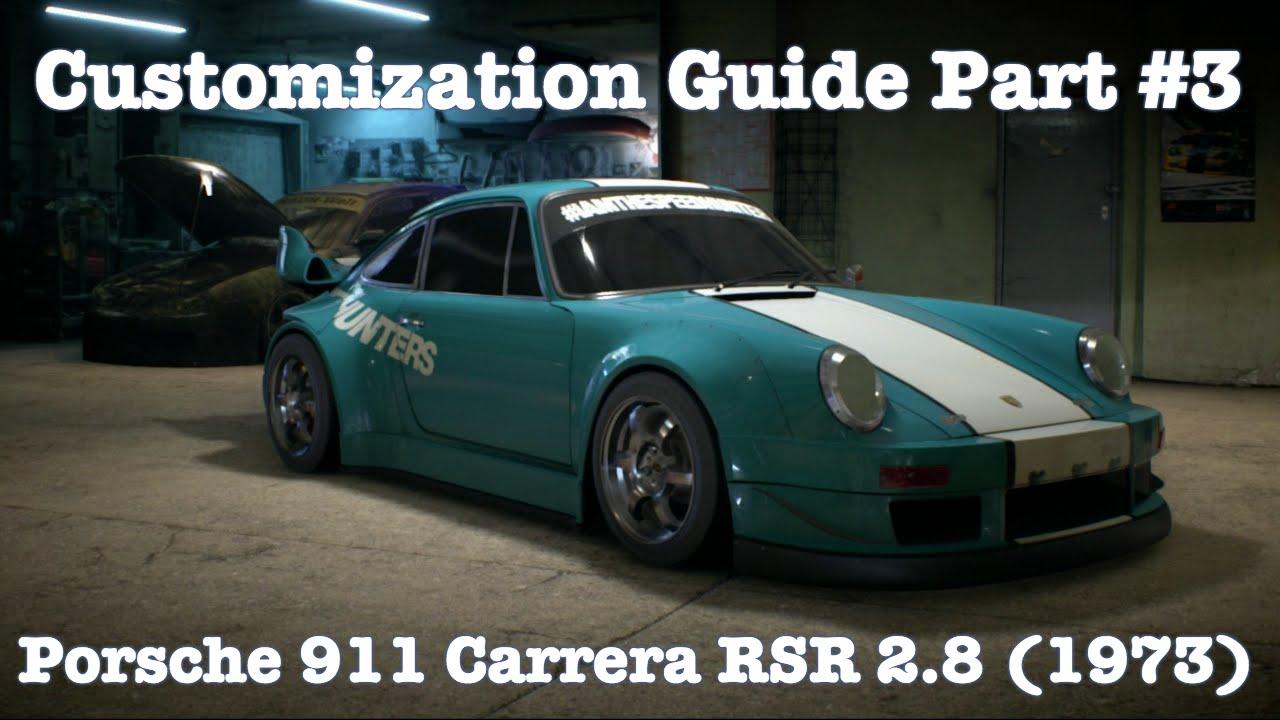 Need for speed porsche 911 carrera rsr 28 1973 customization need for speed porsche 911 carrera rsr 28 1973 customization guide part 3 vanachro Images