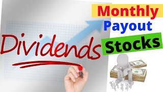 Best monthly dividend stocksdividend investingwhy I choose them?