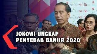 Ungkap Penyebab Banjir di Tahun Baru, Presiden Jokowi: Ini Karena Kesalahan...