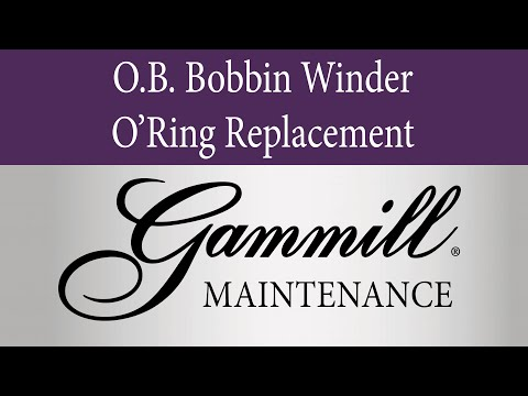O.B. Bobbin winder O'Ring Replacement