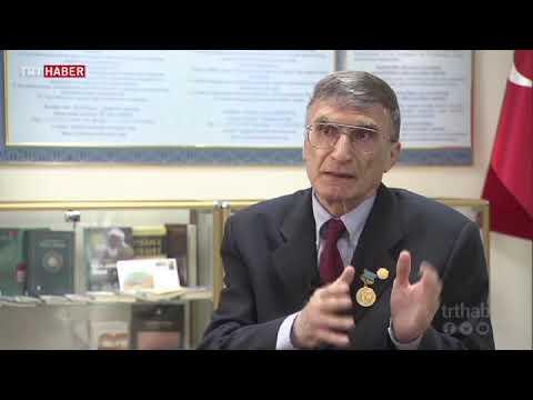 Prof. Dr. Aziz Sancar, makalesini Kazakistan'da TRT ekibine anlattı