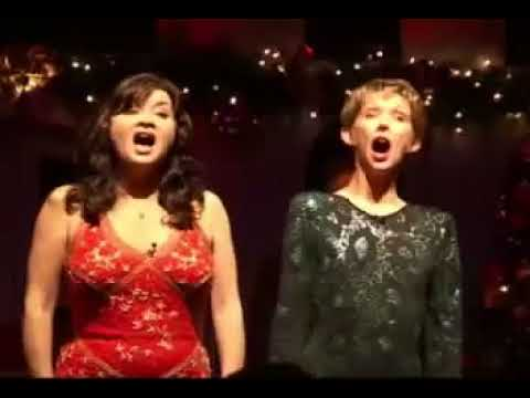 Nicola Keen and Jan Hartley British Airways Flower Duet parody