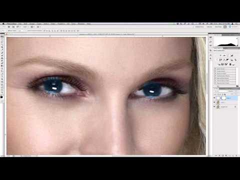 Αλλάξτε χρώμα ματιών σε μια φωτογραφία (Photoshop Tutorial)