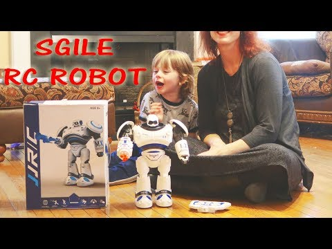 🤖SGILE RC ACTION ROBOT 👀REMOTE CONTROL DEFENDER INTERACTIVE TOY ROBOT REVIEW 👈