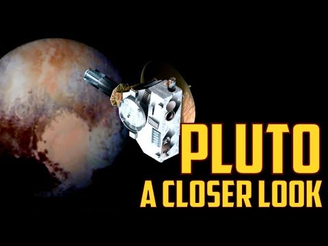 Videos of Space: NASA Images - A Look Back At Pluto New Horizons