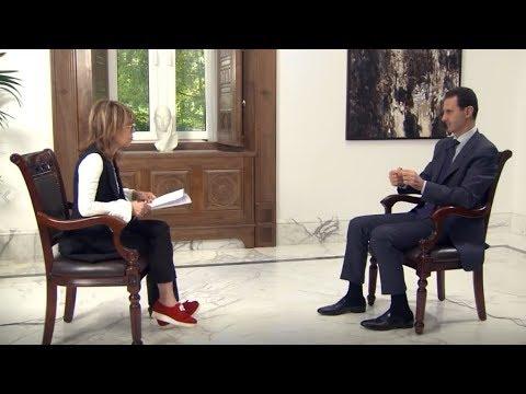 Syrian president Bashar al-Assad interview with British paper | June 10th 2018