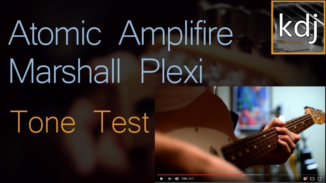 Atomic Amplifire Marshall Plexi - Tone Test