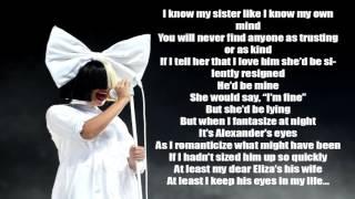 Sia Satisfied Solo Version Lyrics HQ