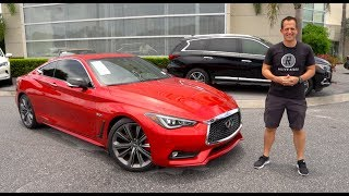 Is the 2019 Infiniti Q60 Red Sport 400 a BETTER Nissan 370z?