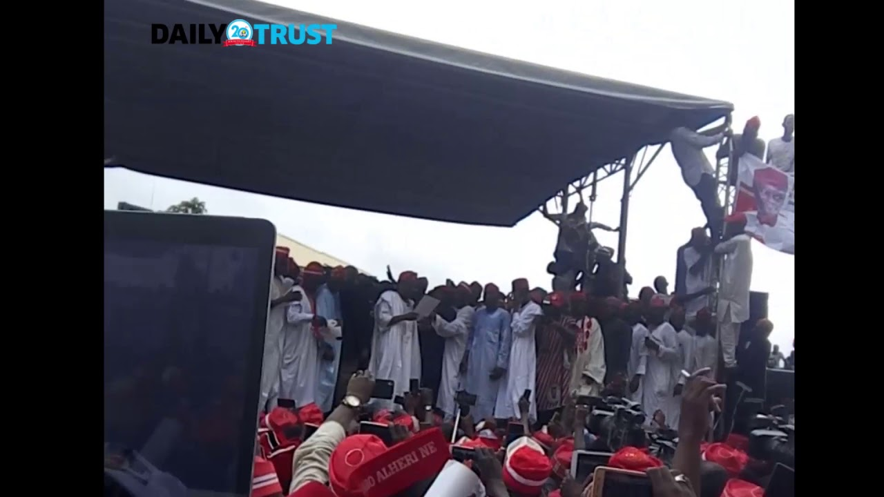 Kwankwaso blasts Buhari, says 'All is not well with Nigeria'