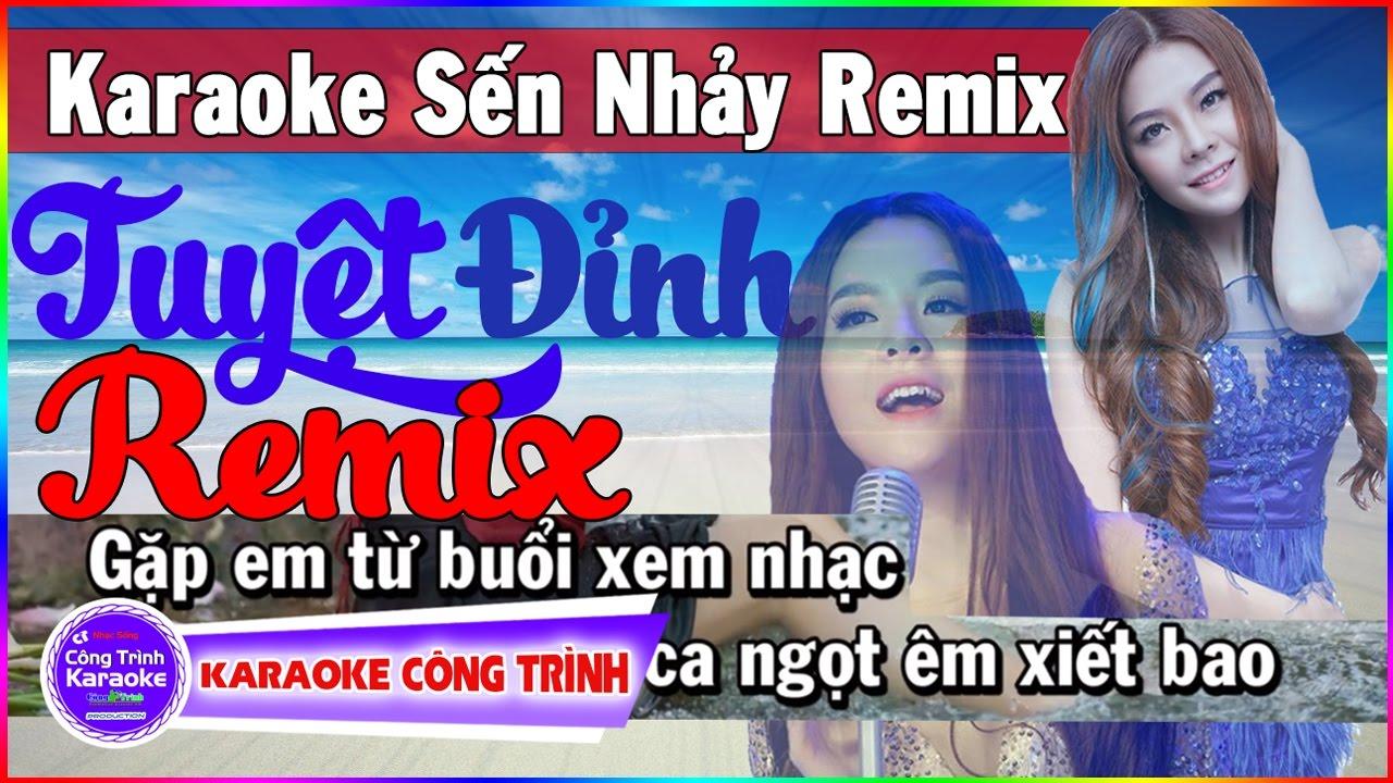 Karaoke Sến Nhảy Audio Remix | Saka Trương Tuyền ft Khưu Huy Vũ | Karaoke Liên Khúc Tuyệt Đỉnh Remix