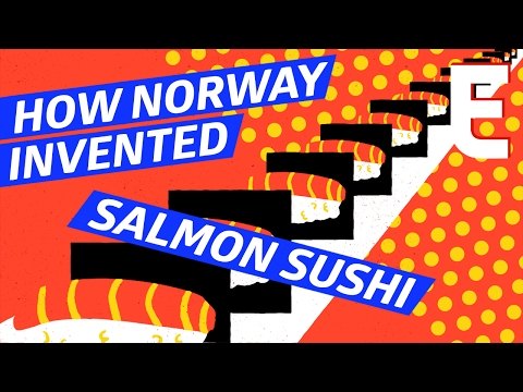Salmon Sushi Was Actually Invented By A Norwegian — Snack Break