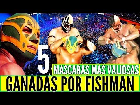 5 MASCARAS MAS VALIOSAS GANADAS POR FISHMAN