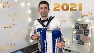 Réveillon à l'accordéon 2020 / 2021🤵🏻🍾🎉 Fiesta, danse et cotillons ! Bonne année !
