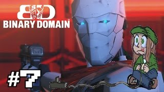 Backlog Heroes Play: Binary Domain Part 7: The Robot Has an Accent?!