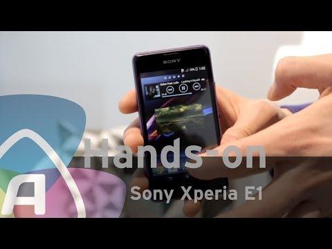 Sony Xperia E1 hands-on (Dutch)