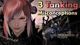 FFXIV - 3 Tanking misconceptions - and how to do it correctly | Tanking Basics (Patch 5.18)