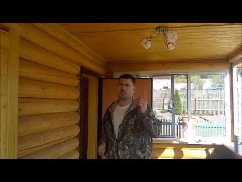 Электрика в деревянном доме.  Деревня Зубцово, Сергиев Посад