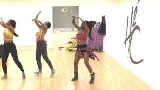 Solidstar ft Timaya - My body Dynamics Afrodancers