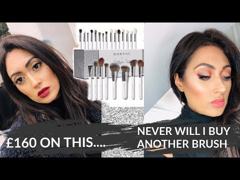 Makeup only using Jaclyn Hill Morphe Brushes thumbnail