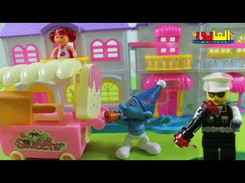 Baby Doll Ice cream shop cooking toys  , house  doll toys , baby Doli play