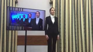 Обучение на телеведущую 🎙 Stand up ✍🏻 Шекспир