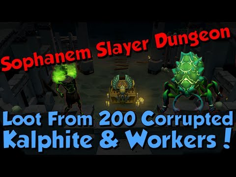Menaphos! Loot From Corrupted Kalphites & Workers! [Runescape 3] Gp & Xp Rates!