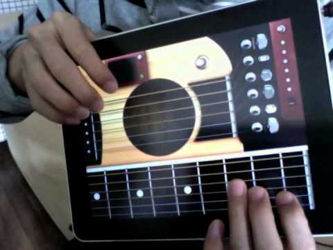 guitarpad a guitar app on ipad special for fingerstyle youtube. Black Bedroom Furniture Sets. Home Design Ideas