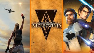 PUBG's $1 Million Charity Play + No Morrowind Remaster + Star Wars: The Clone Wars Returning