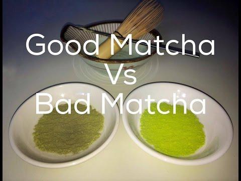 Good Matcha VS Bad Matcha