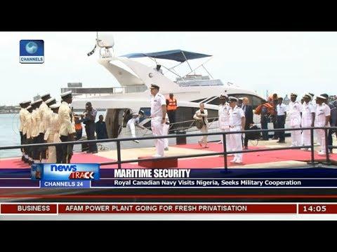 Royal Canadian Navy Visits Nigeria,Seeks Military Cooperation