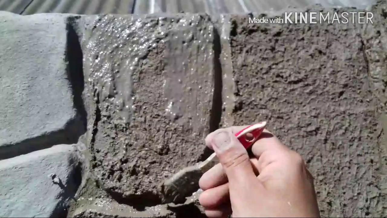 Штукатурка под природный камень