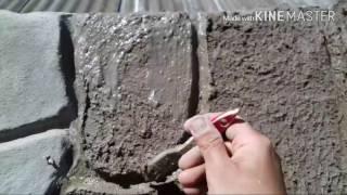 як зробити штучний камінь будинку