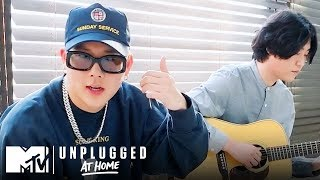 """Monsta X Performs """"Beside U"""" & """"You Can't Hold My Heart""""   MTV Unplugged at Home"""