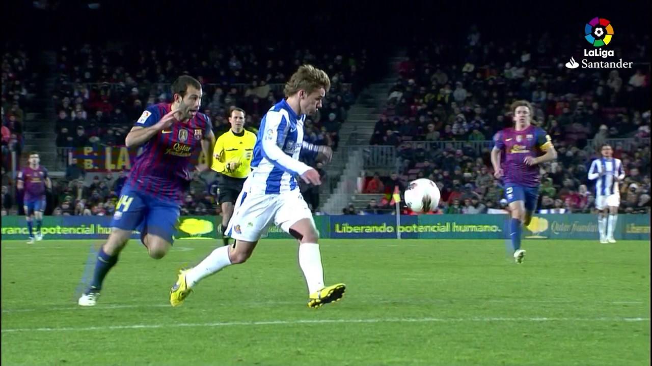 Resumen de FC Barcelona vs Real Sociedad (2-1) 2011/2012 ...